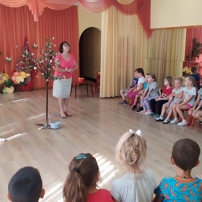 Сегодня у нас в детском саду «РАДУГА» пахнет яблоками, мы празднуем Яблочный Спас!